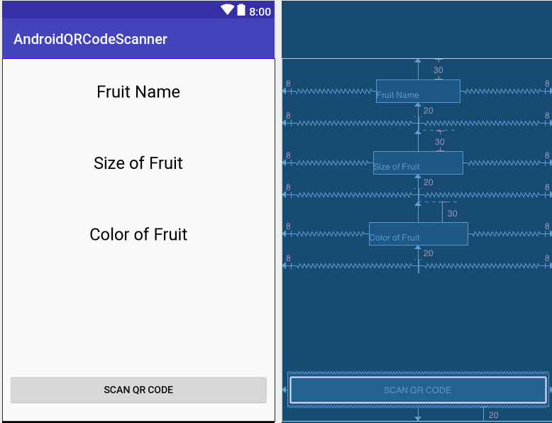 Qr code scanner in android studio | Android Example  2019-04-24