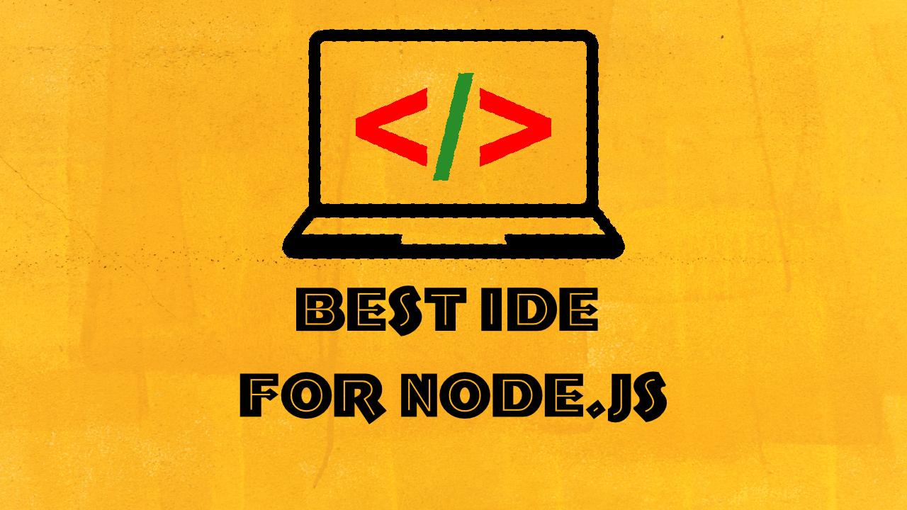 node js ide windows
